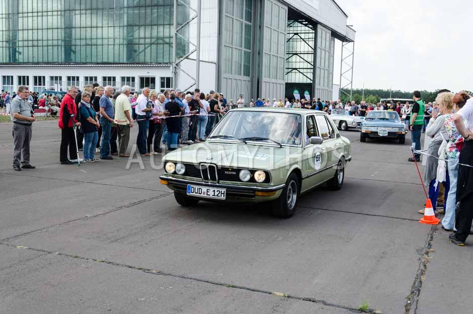 Automythos | 7. Hamburg Berlin Klassik 2014 | 159 | Roland Böhme & Dominik Heine | BMW E12 525
