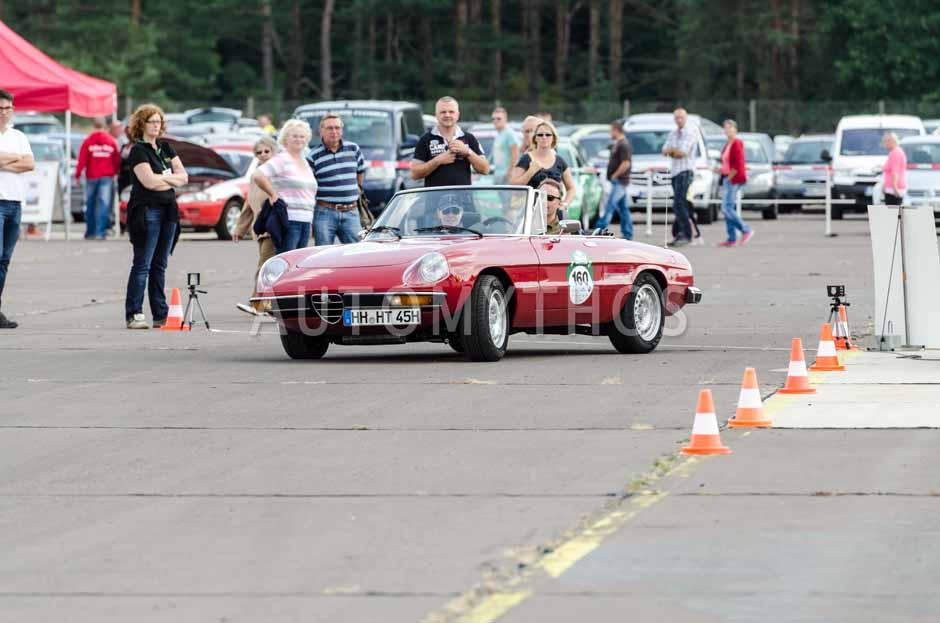 Automythos   7. Hamburg Berlin Klassik 2014   160   Dennis Fiedler & Judith Veit   Alfa Romeo Spider