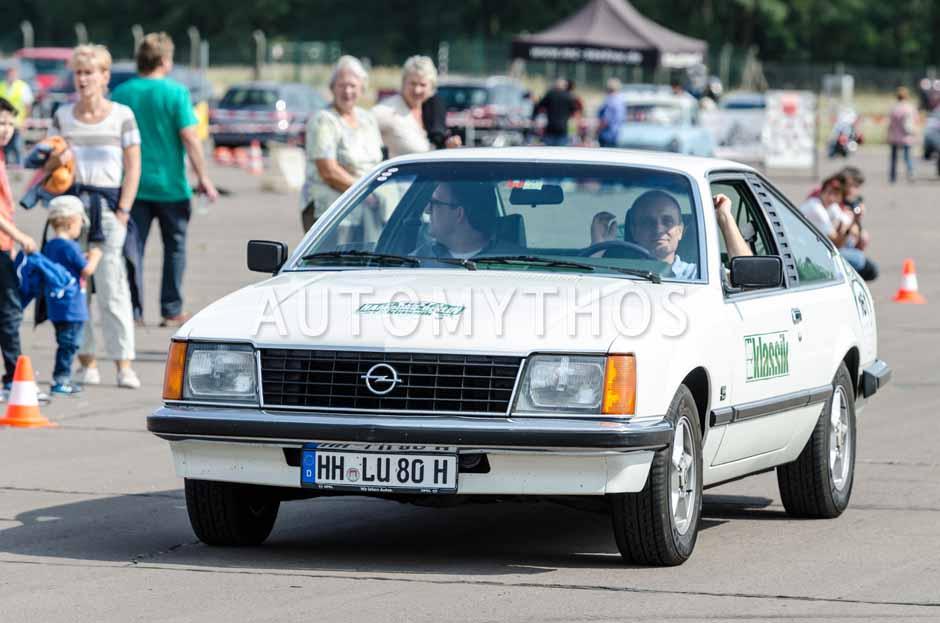 Automythos | 7. Hamburg Berlin Klassik 2014 | 161 | Christian Steiger & Thomas Wirth | Opel Monza 3.0 E