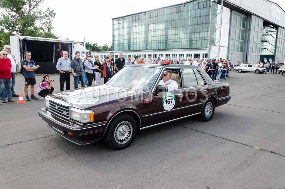 Automythos   7. Hamburg Berlin Klassik 2014   167   Joachim Walther & Isolde Holderied   Toyota Crown