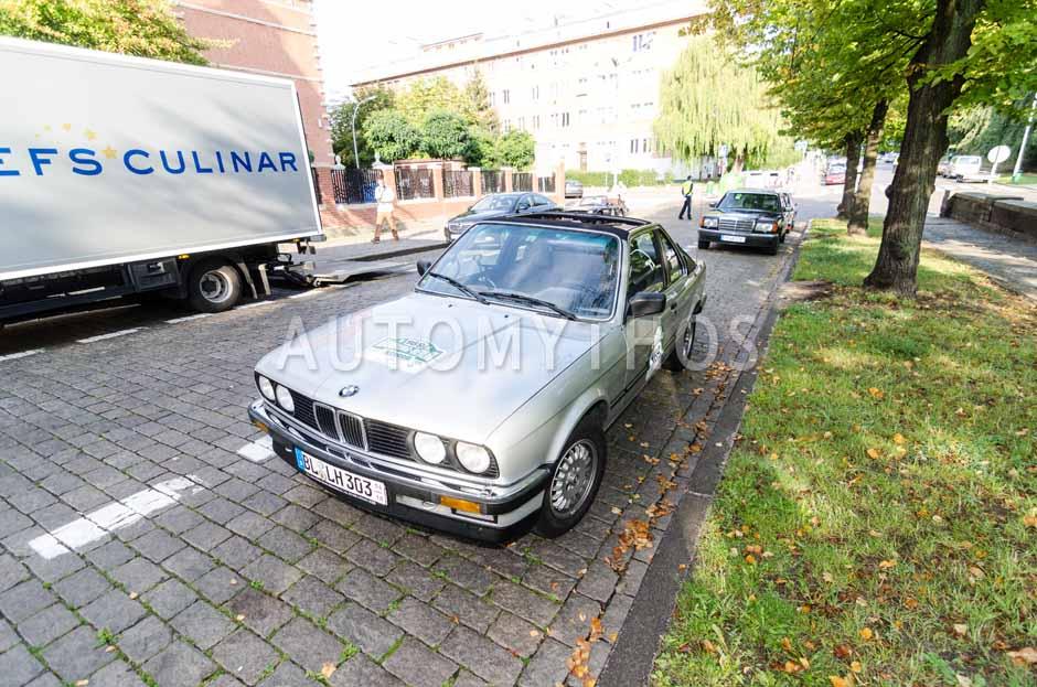 Automythos | 7. Hamburg Berlin Klassik 2014 | 169 | Johannes Bitzer & Susanne Bitzer | BMW 325e Baur TC E30 Cabriolet