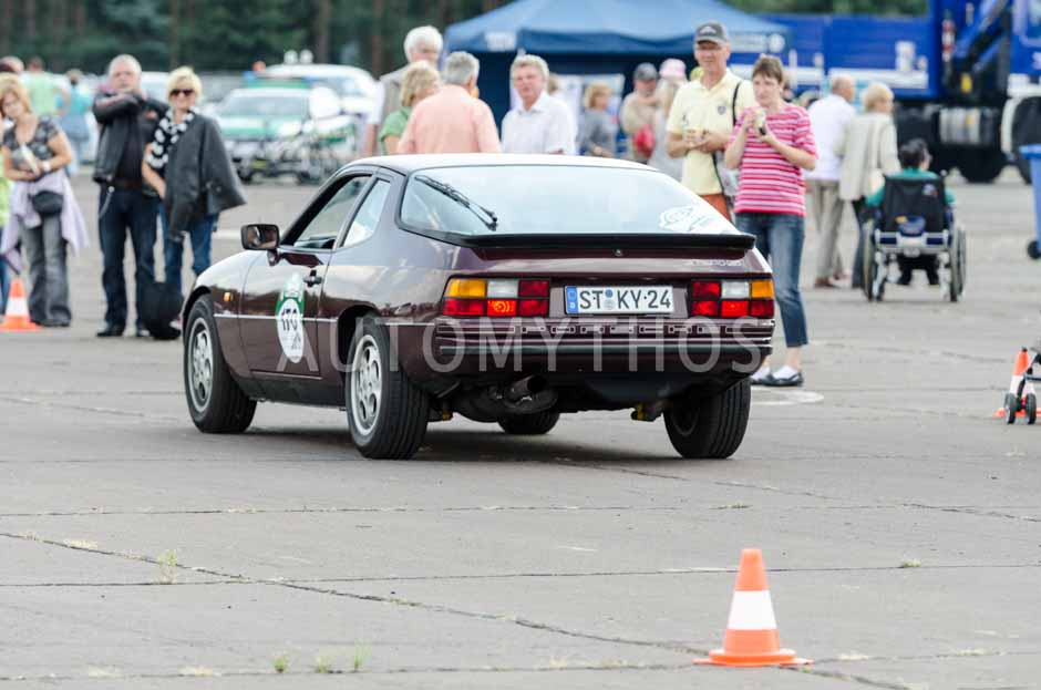 Automythos   7. Hamburg Berlin Klassik 2014   170   Dr. Gerhardus Kreyenborg & Sven Schröder   Porsche 924 S