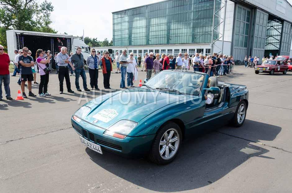 Automythos | 7. Hamburg Berlin Klassik 2014 | 172 | Sigrid Schneider & Udo Schneider | BMW Z1