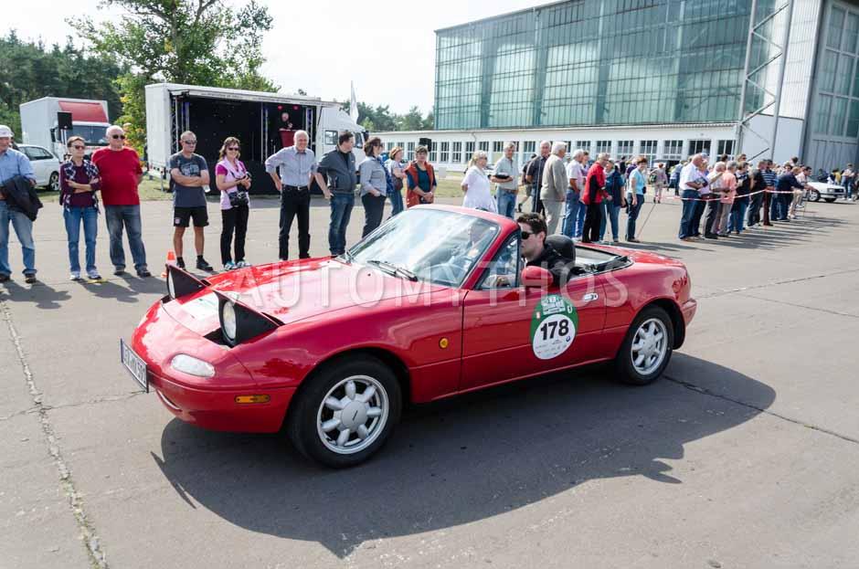 Automythos | 7. Hamburg Berlin Klassik 2014 | 178 | Tanja Hoppmann & Benjamin Schweppe | Mazda MX-5