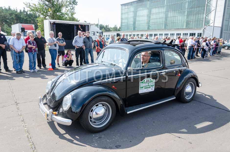 Automythos | 7. Hamburg Berlin Klassik 2014 | 23 | Malte Klarczyk & Diane Reyher | Volkswagen Käfer Typ 1 Export