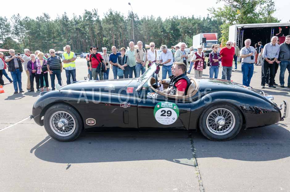 Automythos | 7. Hamburg Berlin Klassik 2014 | 29 | Jan Megow & Dirk Stewen | Jaguar XK 120 Roadster