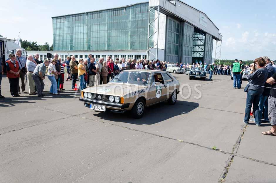 Automythos | 7. Hamburg Berlin Klassik 2014 | 35 | Andreas Hornig & Esther Schweins | Volkswagen Scirocco I Gli
