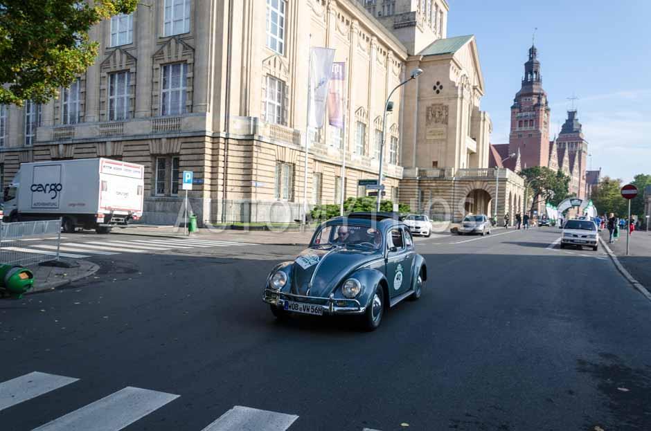 Automythos | 7. Hamburg Berlin Klassik 2014 | 40 | Nicolás Haas & Walter Köhler | Volkswagen Käfer Typ 1 Export