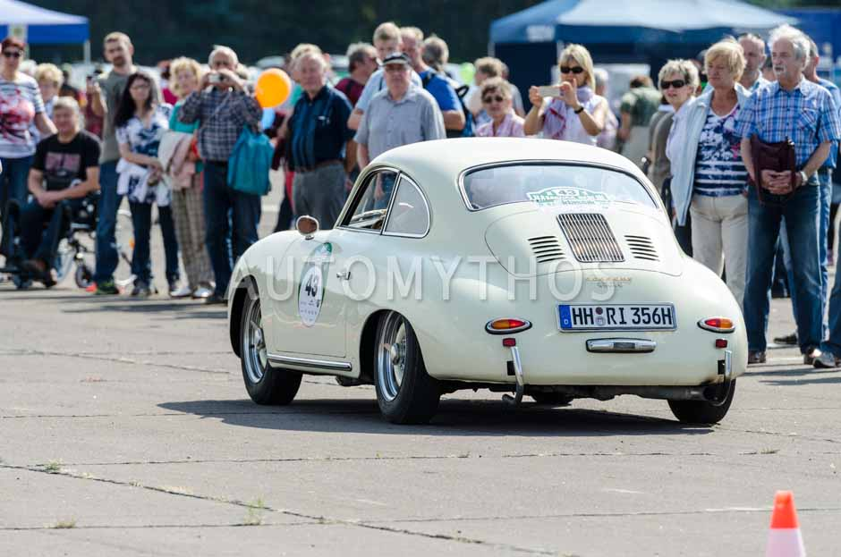 Automythos | 7. Hamburg Berlin Klassik 2014 | 43 | Ralf Krohn & Rahimeh Krohn | Porsche 356 A 1600