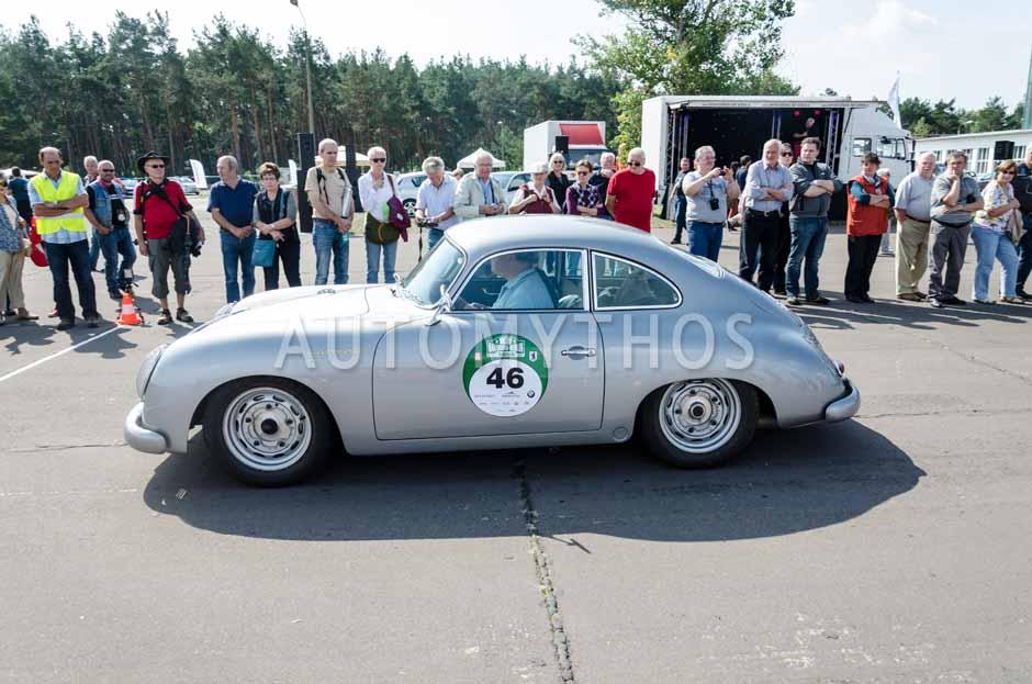 Automythos | 7. Hamburg Berlin Klassik 2014 | 46 | Harald Frings & Ulrike Frings | Porsche 356 A GT