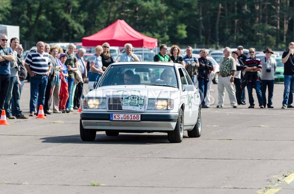 Automythos   7. Hamburg Berlin Klassik 2014   49   Dr. Michael Effing & Helmich Stroink   Mercedes-Benz W124