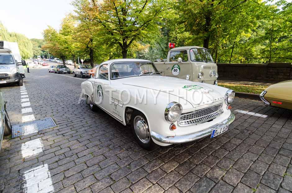 Automythos | 7. Hamburg Berlin Klassik 2014 | 54 | Sören Mews & Mathias Götzel | AWE Wartburg Sport 313/1