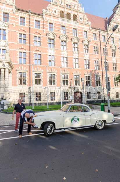 Automythos | 7. Hamburg Berlin Klassik 2014 | 56 | Marius Varekamp & Joop Van Duijn | Borgward Isabella Coupé