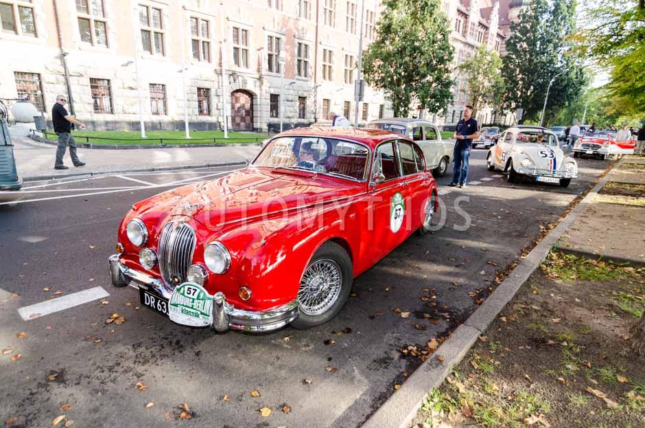 Automythos | 7. Hamburg Berlin Klassik 2014 | 57 | John Larsen & Marianne Larsen | Jaguar MK II