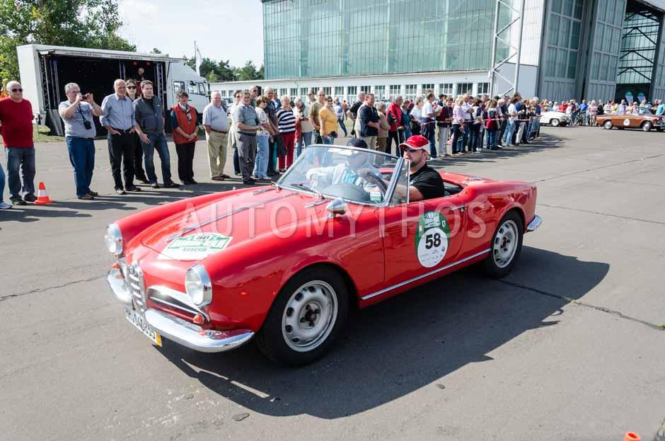 Automythos | 7. Hamburg Berlin Klassik 2014 | 58 | Tim Schüler & Frank Moritz | Alfa Romeo Giulietta Spider Veloce