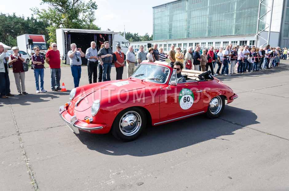 Automythos | 7. Hamburg Berlin Klassik 2014 | 60 | André Riesenbeck & Hajo Riesenbeck | Porsche 356 B Super 90