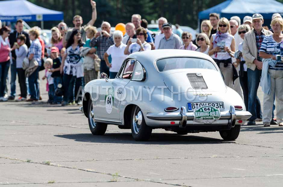Automythos   7. Hamburg Berlin Klassik 2014   64   Veit Oos & Karin Maria Oos   Porsche 356 B T5
