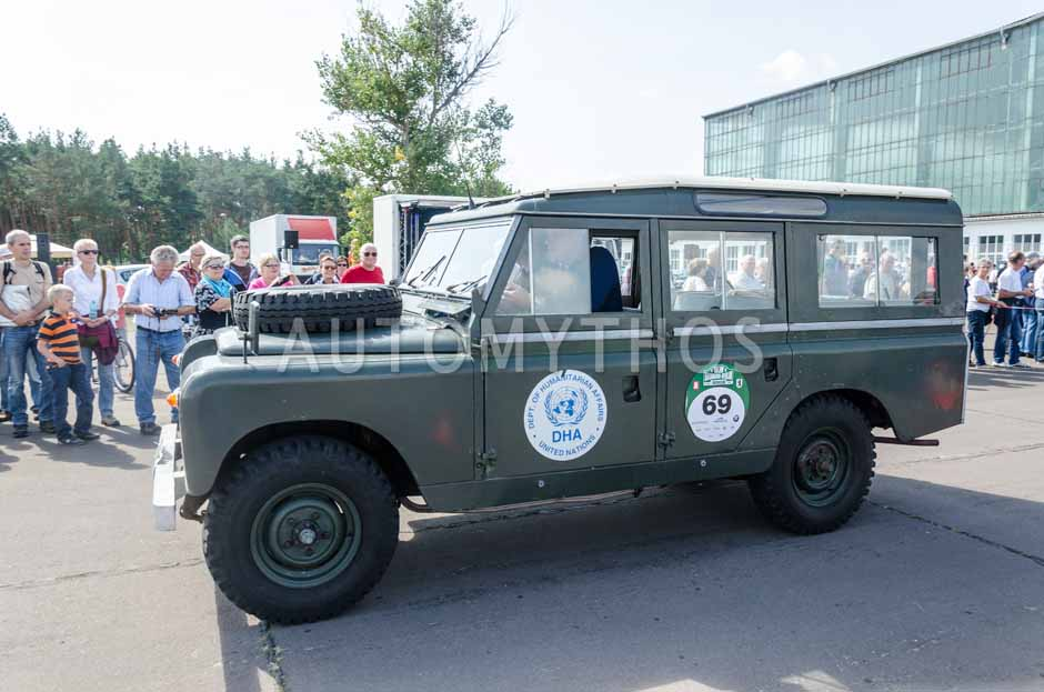 Automythos | 7. Hamburg Berlin Klassik 2014 | 69 | Michael Pitsch & Andre Klindworth | Land Rover LR 109