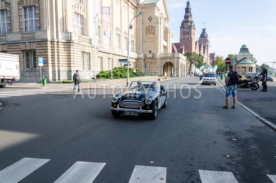 Automythos | 7. Hamburg Berlin Klassik 2014 | 70 | Torsten Groeger & Mona Meyer-Bernitt | Austin-Healey 3000 Mk II