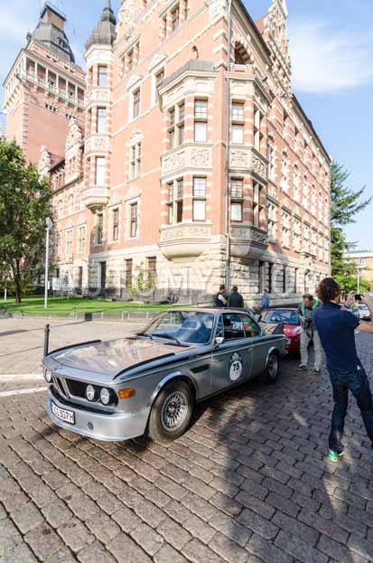 Automythos | 7. Hamburg Berlin Klassik 2014 | 75 | Berthold Dörrich & Cypselus von Frankenberg | BMW E9 3.0 CSL