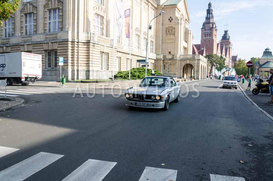 Automythos   7. Hamburg Berlin Klassik 2014   75   Berthold Dörrich & Cypselus von Frankenberg   BMW E9 3.0 CSL