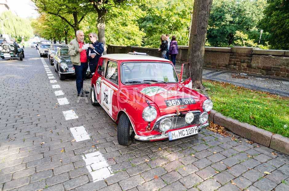 Automythos | 7. Hamburg Berlin Klassik 2014 | 76 | Leopold Prinz von Bayern & J. Philip Rathgen | Austin Mini Cooper S