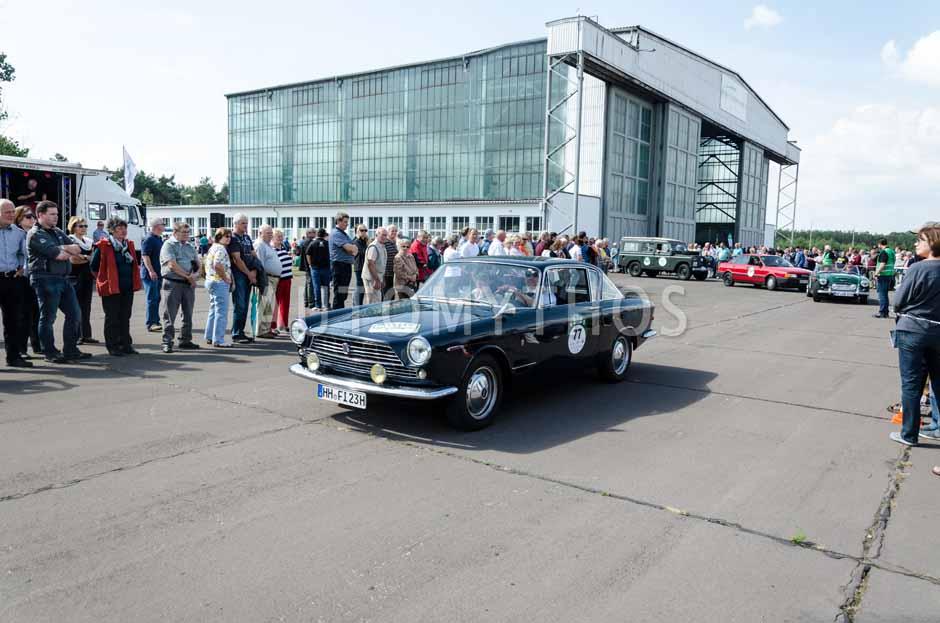 Automythos | 7. Hamburg Berlin Klassik 2014 | 77 | Dennis Horstmann & Julia Horstmann-Griefahn | Fiat 2300 S Coupé