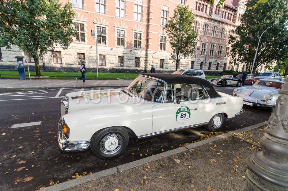 Automythos | 7. Hamburg Berlin Klassik 2014 | 81 | Arno Gabel & Ute Gabel | Mercedes-Benz W111 220 SEb/C