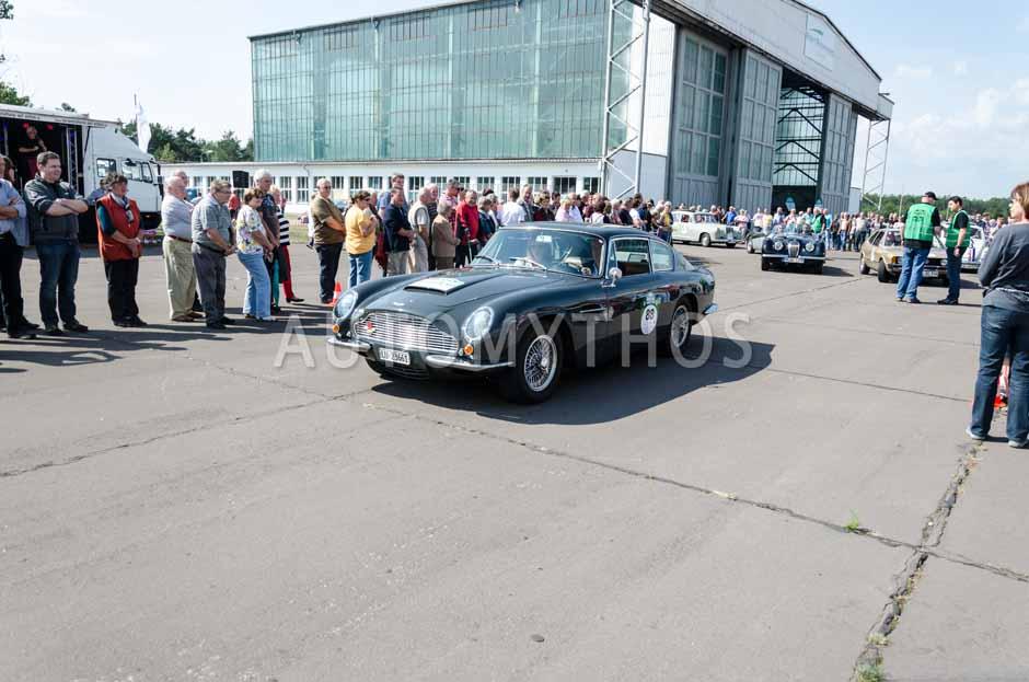 Automythos | 7. Hamburg Berlin Klassik 2014 | 88 | Jens Ruppert & Ute Ruppert | Aston Martin DB6