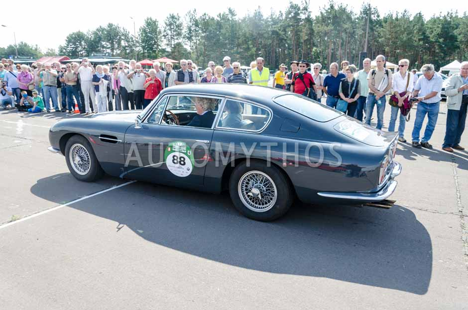 Automythos   7. Hamburg Berlin Klassik 2014   88   Jens Ruppert & Ute Ruppert   Aston Martin DB6
