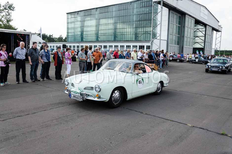 Automythos | 7. Hamburg Berlin Klassik 2014 | 89 | Manfred Beyer & Gabriele Metzer | Volkswagen Karmann Ghia Typ 14
