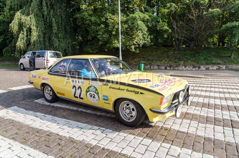 Automythos | 7. Hamburg Berlin Klassik 2014 | 92 | Lina van de Mars & David Dornier | Opel Commodore B GS/E