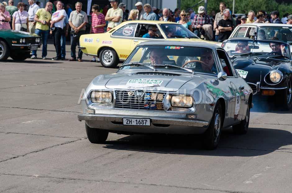 Automythos | 7. Hamburg Berlin Klassik 2014 | 93 | Guolf J. Gattiker & Gian-Fadri Gattiker | Lancia Fulvia Sport 1.3 Zagato