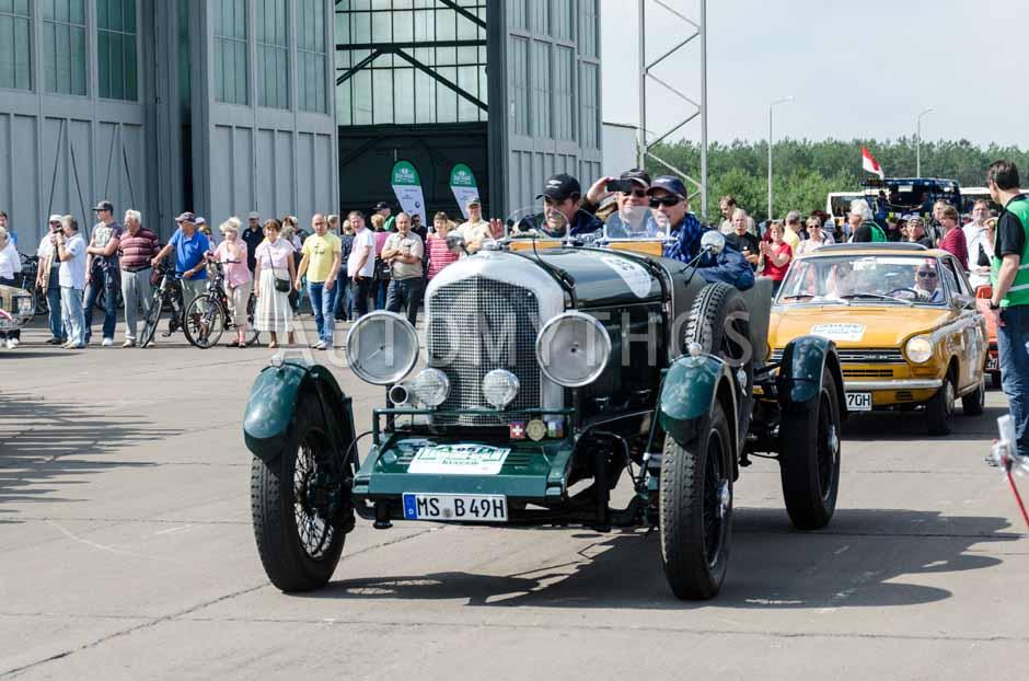 Automythos | 7. Hamburg Berlin Klassik 2014 | 95 | Dr. Ludger Hellenthal & Gert Maria Freimuth | Bentley Open Tourer