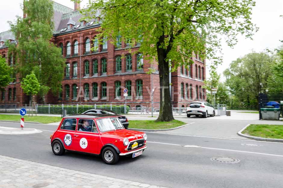 Automythos | 14. Rügen Classics 2015 | 69 | Jörg Herms & Wolfgang Krüger | Innocenti Mini Cooper 1300 B39