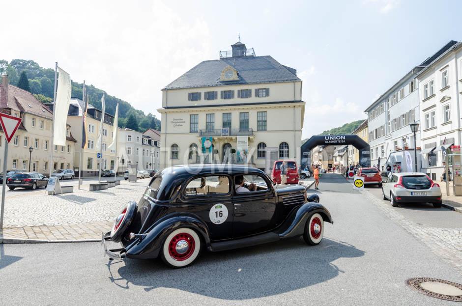 Automythos   13. Sachsen Classic 2015   16   Friedemann Matthieu & Bernd Budi   Ford V8 Model 48