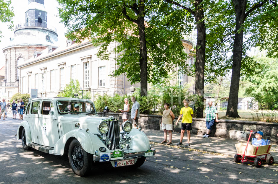 Automythos | 13. Sachsen Classic 2015 | 19 | Hans-Jörg Knitsch & Iris Wilhelm | Talbot (London) BD75