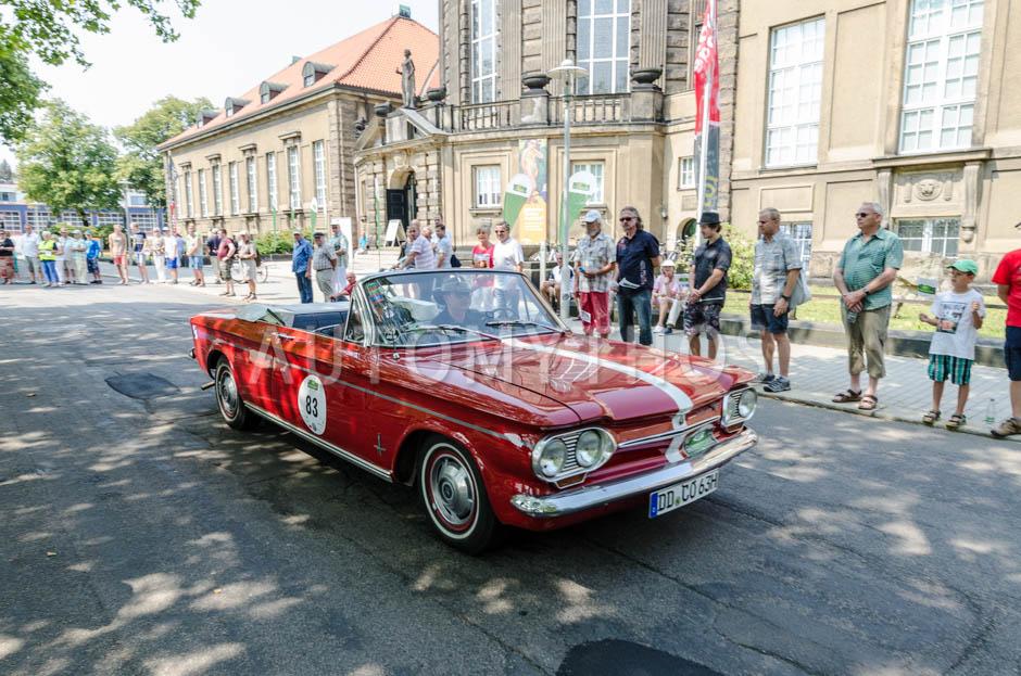Automythos | 13. Sachsen Classic 2015 | 83 | Matthias König & Werner König | Chevrolet Corvair Monza