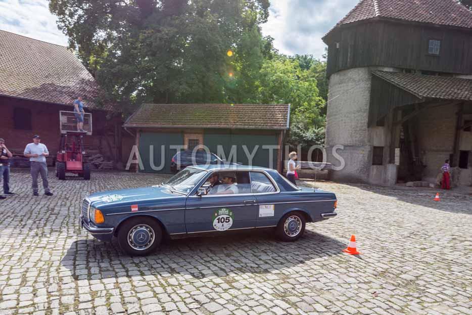 Automythos | 8. Hamburg Berlin Klassik 2015 | 105 | Michael Gross & Carsten Drewitz | Lotus Cortina & Mercedes-Benz C123 280 CE