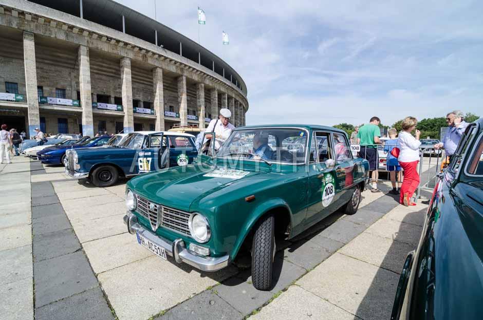 Automythos | 8. Hamburg Berlin Klassik 2015 | 108 | Teresio Bruni & Detlef Schaller | Alfa Romeo Giulia 1300 TI