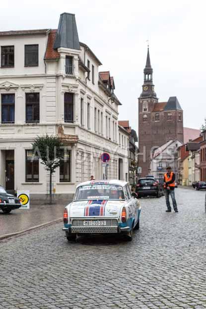 Automythos | 8. Hamburg Berlin Klassik 2015 | 110 | Jan Blažek & Tereza Blažková | Skoda 1000 MB Rally