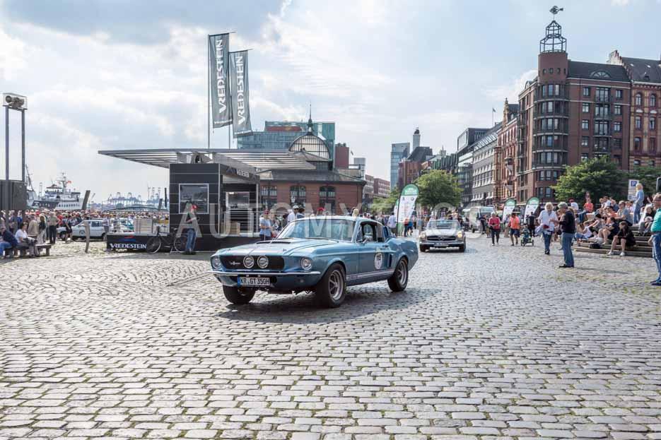 Automythos | 8. Hamburg Berlin Klassik 2015 | 115 | Michael Schmitz & Stephanie Weller | Shelby GT 350