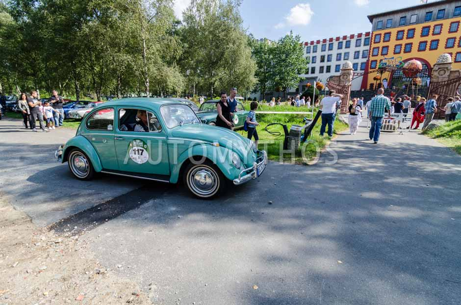 Automythos   8. Hamburg Berlin Klassik 2015   117   Peter Josef Klingenmeier & Rose Klingenmeier   Volkswagen Käfer 1200