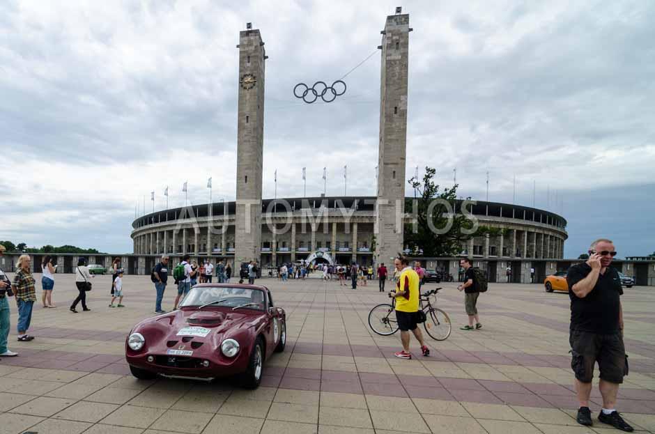 Automythos   8. Hamburg Berlin Klassik 2015   118   Heino Landsberg & Dagmar Landsberg   TVR Griffith 200