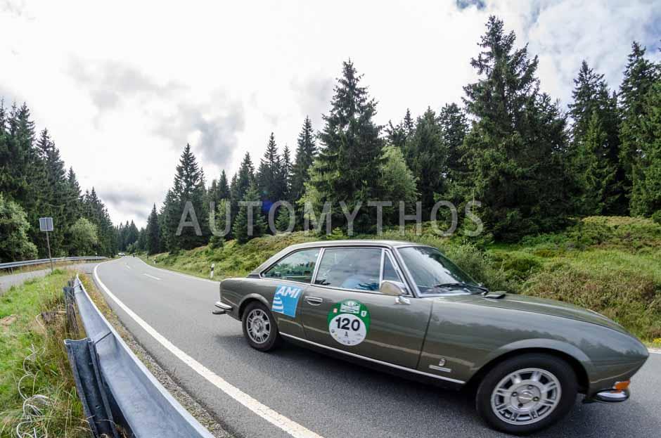 Automythos | 8. Hamburg Berlin Klassik 2015 | 120 | Thierry Leduc & Boris Pieritz | Peugeot 204 Cabriolet