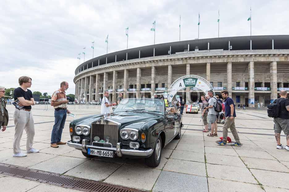 Automythos   8. Hamburg Berlin Klassik 2015   122   Erhard Mueller-Behnke & Anja Brauer   Rolls-Royce Corniche Mulliner