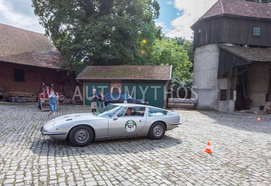 Automythos | 8. Hamburg Berlin Klassik 2015 | 127 | Petr Fiala & Sona Nejedla | Maserati Indy