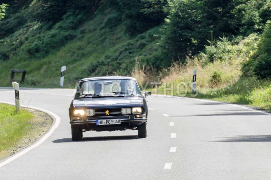 Automythos | 8. Hamburg Berlin Klassik 2015 | 128 | Jan Henning Ipach & Sven Ove Cordsen | Peugeot 504 Coupé
