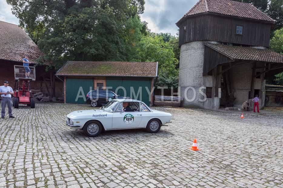 Automythos   8. Hamburg Berlin Klassik 2015   129   Hanno Mayr & Magdalena Mayr   Lancia Fulvia Coupé 1.3 S
