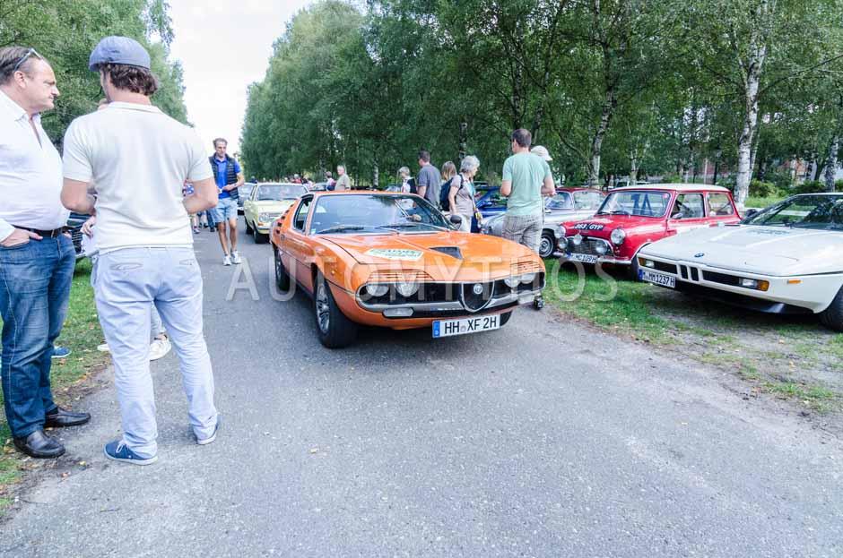 Automythos   8. Hamburg Berlin Klassik 2015   131   Stephan Schlueter & Carsten Zwerg   Alfa Romeo Montreal